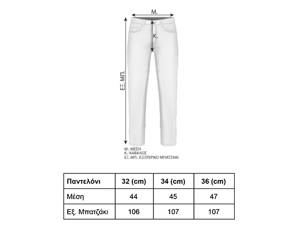 tmk033-panteloni-size-guide
