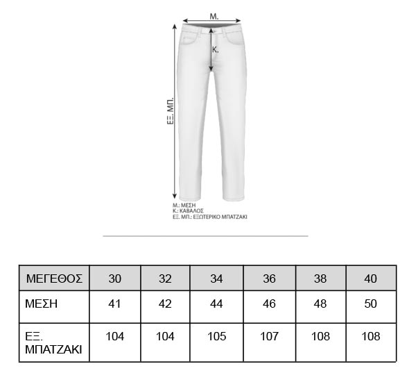 chinos-size-guide-m933